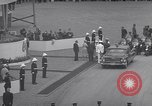 Image of St Lawrence Seaway opening ceremony speakers St Lambert Quebec Canada, 1959, second 47 stock footage video 65675078226