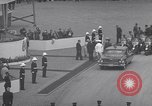 Image of St Lawrence Seaway opening ceremony speakers St Lambert Quebec Canada, 1959, second 48 stock footage video 65675078226