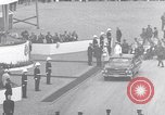 Image of St Lawrence Seaway opening ceremony speakers St Lambert Quebec Canada, 1959, second 50 stock footage video 65675078226