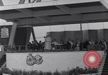 Image of St Lawrence Seaway opening ceremony speakers St Lambert Quebec Canada, 1959, second 56 stock footage video 65675078226